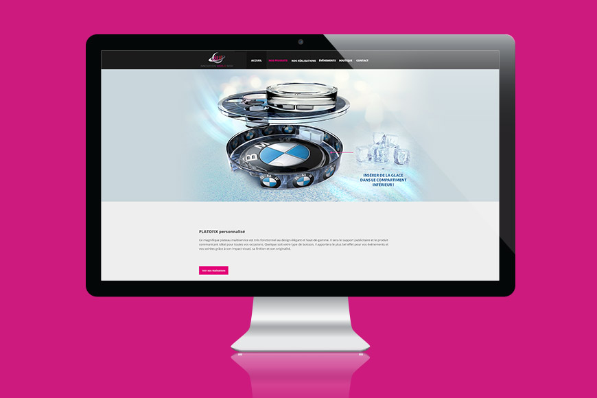 SITE WEB POUR INNOVATION WORLD WIDE